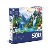 Trefl/Pierre Belvedere Trefl Imaginary Landscape Large Pieces Puzzle 500pcs