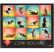 Willow Creek Willow Creek Cow Yoga Puzzle 1000pcs