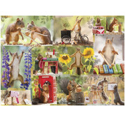 Willow Creek Willow Creek Gettin' Squirrelly Puzzle 1000pcs
