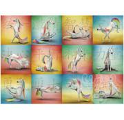 Willow Creek Willow Creek Unicorn Yoga Puzzle 1000pcs