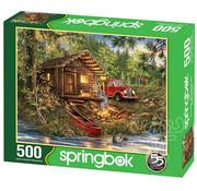 Springbok Springbok Cozy Cabin Life Puzzle 500pcs