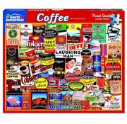 White Mountain White Mountain Coffee Puzzle 1000pcs