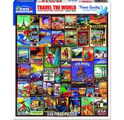 White Mountain White Mountain Travel the World Puzzle 550pcs
