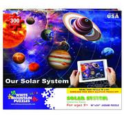 White Mountain White Mountain Solar System Puzzle 300pcs