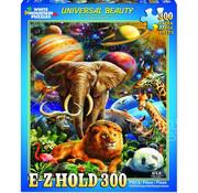 White Mountain White Mountain Universal Beauty E-Z Hold Puzzle 300pcs