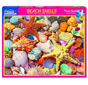 White Mountain White Mountain Beach Shells Puzzle 550pcs