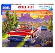 White Mountain White Mountain Sweet Ride Puzzle 1000pcs