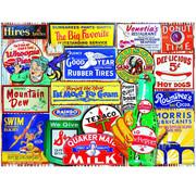 White Mountain White Mountain Classic Signs Puzzle 550pcs