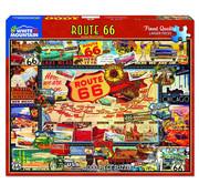 White Mountain White Mountain Route 66 Puzzle 1000pcs
