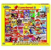 White Mountain White Mountain I Love Cereal E-Z Hold Puzzle 300pcs