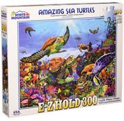 White Mountain White Mountain Amazing Sea Turtles Puzzle 300pcs