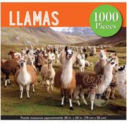 Peter Pauper Press Peter Pauper Press Llamas Puzzle 1000pcs