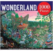 Peter Pauper Press Peter Pauper Press Wonderland Puzzle 1000pcs