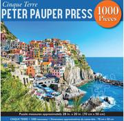 Peter Pauper Press Peter Pauper Press Cinque Terre Puzzle 1000pcs