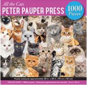 Peter Pauper Press Peter Pauper Press All the Cats Puzzle 1000pcs