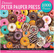 Peter Pauper Press Peter Pauper Press Donuts Puzzle 1000pcs