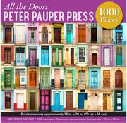 Peter Pauper Press Peter Pauper Press All the Doors Puzzle 1000pcs