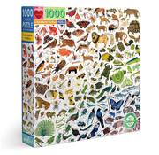 eeBoo eeBoo A Rainbow World Puzzle 1000pcs