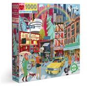 eeBoo eeBoo New York City Life Puzzle 1000pcs