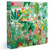 eeBoo eeBoo Plant Ladies Puzzle 1000pcs