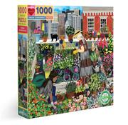 eeBoo eeBoo Urban Gardening Puzzle 1000pcs