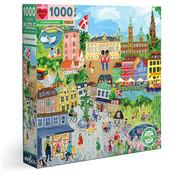 eeBoo eeBoo Copenhagen Puzzle 1000pcs