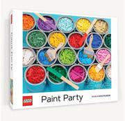 Chronicle Books Chronicle Lego Paint Party Puzzle 1000pcs