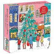 Galison Galison Christmas Carolers Puzzle 1000pcs