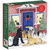 Galison Galison Christmas Cottage Puzzle 1000pcs