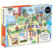 Galison Galison San Francisco Puzzle 1000pcs