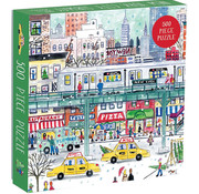 Galison Galison New York City Subway Puzzle 500pcs