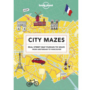 Lonely Planet City Mazes: Real Street Map Puzzles to Solve