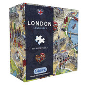 Gibsons Gibsons London Landmarks Puzzle 500pcs