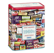 Gibsons Gibsons 1960S Sweet Memories Puzzle 500pcs Gift Tin
