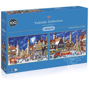 Gibsons Gibsons Yuletide Deliveries Puzzle 2 x 500pcs
