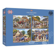 Gibsons Gibsons The Evacuees Puzzle 4 x 500pcs