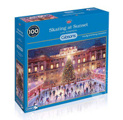 Gibsons Gibsons Skating at Sunset Puzzle 1000pcs