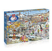 Gibsons Gibsons I Love Winter Puzzle 1000pcs
