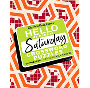 St. Martin's Publishing New York Times Hello My Name is Saturday Crossword Puzzles