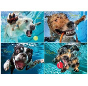 Willow Creek Willow Creek Underwater Dogs: Pool Pawty Puzzle 1000pcs