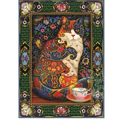 Willow Creek Willow Creek Painted Cat Puzzle 1000pcs
