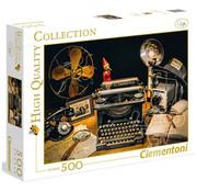 Clementoni Clementoni The Typewriter Puzzle 500pcs