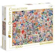 Clementoni Clementoni Stamps Puzzle 1000pcs