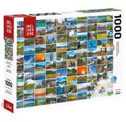 Trefl/Pierre Belvedere Trefl Canadian Mosaic Puzzle 1000pcs
