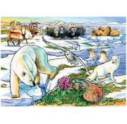 Cobble Hill Puzzles Cobble Hill Arctic Adventure Tray Puzzle 35pcs