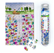 MicroPuzzles MicroPuzzles Gone Fishing Mini Puzzle 150pcs