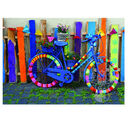 Playful Pastimes Playful Pastimes Groovy Bicycle Puzzle 1000pcs