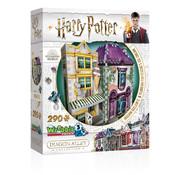 Wrebbit Wrebbit Harry Potter Diagon Alley Collection: Madam Malkin's™ and Florean Fortescue's Ice Cream™ Puzzle 290pcs