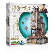 Wrebbit Wrebbit Harry Potter The Burrow: Weasley Family Home Puzzle 415pcs