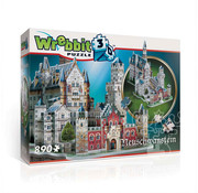 Wrebbit Wrebbit Castles & Cathedrals Neuschwanstein Castle Puzzle 890pcs